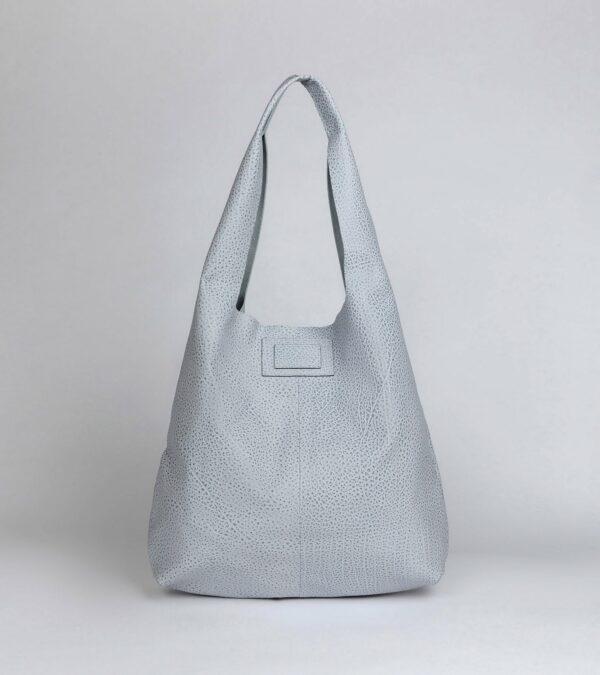 Деловая голубая женская сумка FBR-2880