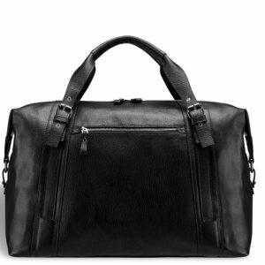 Кожаная черная мужская сумка BRL-11874 233891
