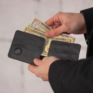 Неповторимая черная мужская сумка для мобильного телефона BRL-23091 234855