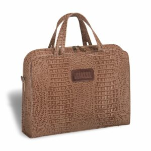 Солидная коричневая женская сумка портфель BRL-3376