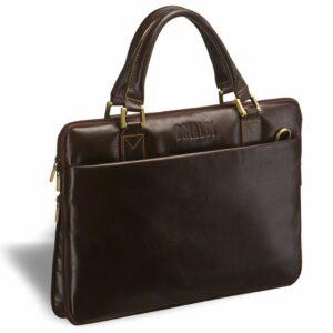 Стильная коричневая мужская сумка для документов BRL-2948