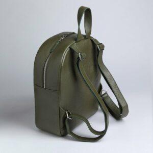 Стильный желтовато-зелёный женский рюкзак FBR-1163 233280