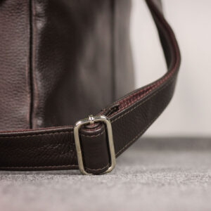 Вместительная коричневая мужская сумка через плечо BRL-19858 234518