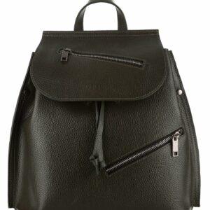 Удобный желтовато-зелёный женский рюкзак FBR-1534