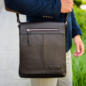 Неповторимая коричневая мужская сумка для документов BRL-11724 233872