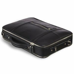 Функциональная черная мужская деловая сумка трансформер BRL-23143 234982