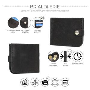 Удобный черный мужской аксессуар BRL-7592 233760