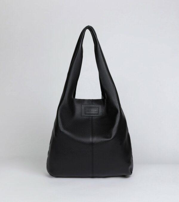 Вместительная черная женская сумка FBR-2892