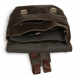 Удобный коричневый мужской рюкзак для ручной клади BRL-17457 234330