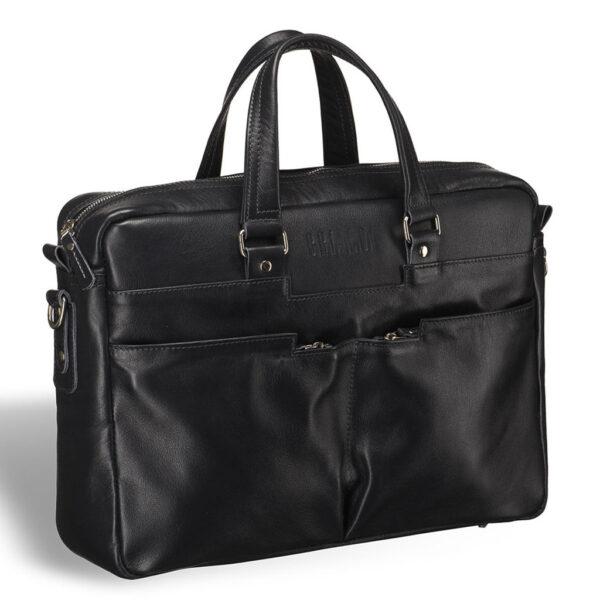 Вместительная черная дорожная сумка BRL-3287