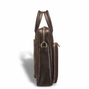 Уникальная коричневая мужская классическая сумка BRL-12052 233960