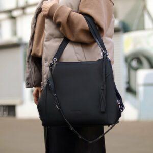 Неповторимая черная женская сумка FBR-2350 235969