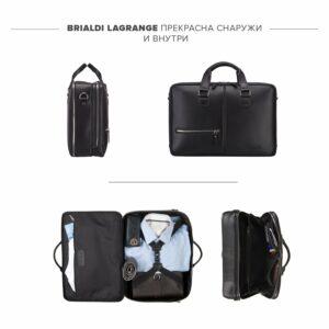 Уникальная черная мужская сумка BRL-23116 234852