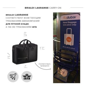 Уникальная черная мужская сумка BRL-23116 234846