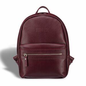 Солидный бордовый женский городской рюкзак BRL-17482 234319