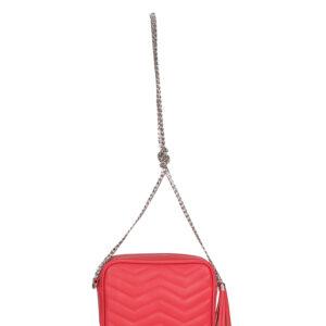 Функциональная розово-оранжевая женская сумка FBR-1340 233165