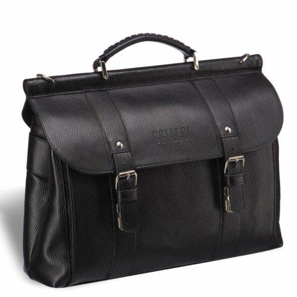 Удобная черная мужская сумка BRL-17441