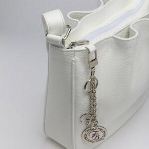 Вместительная белая женская сумка FBR-971 235750