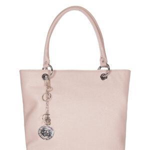 Вместительная розовая женская сумка FBR-1213