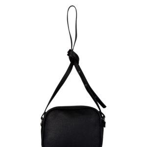 Стильная черная женская сумка через плечо FBR-1135