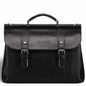 Удобная черная мужская сумка BRL-17441 234266