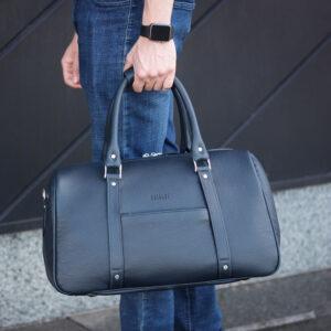 Удобная синяя сумка спортивная BRL-23332 235454