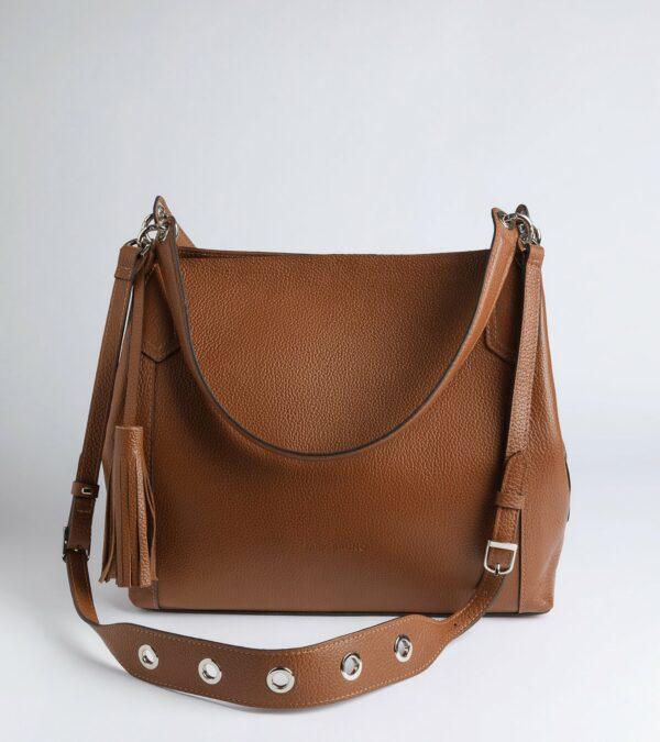 Модная коричневая женская сумка FBR-2783