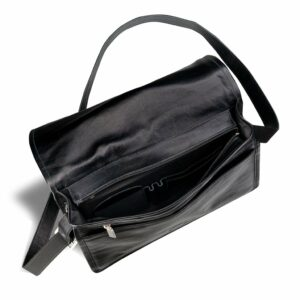 Неповторимая черная мужская сумка BRL-949 233451