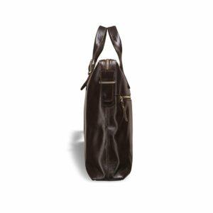 Удобная коричневая мужская сумка для документов BRL-3221 233607