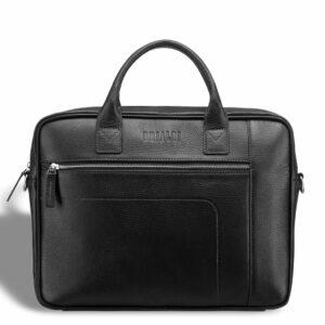 Деловая черная мужская сумка для документов BRL-12997 234152