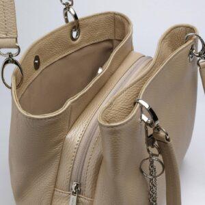 Неповторимая бежевая женская сумка FBR-1775 235861