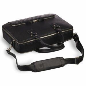 Солидная черная мужская классическая сумка BRL-23166 235066