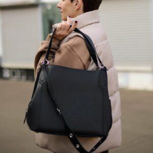 Неповторимая черная женская сумка FBR-2350 235968