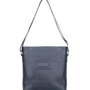 Вместительная синяя женская сумка через плечо FBR-2807