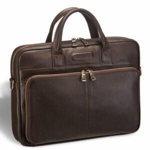 Уникальная коричневая мужская классическая сумка BRL-12052