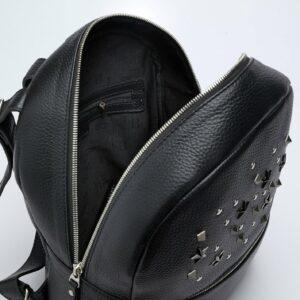 Уникальный черный женский рюкзак FBR-1166 233286