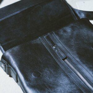 Удобная черная мужская сумка для документов BRL-1021 233481