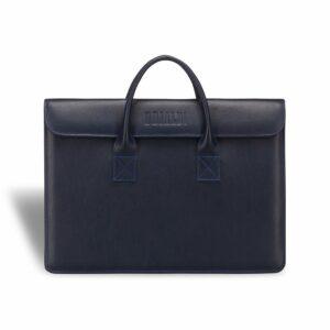 Деловая синяя женская сумка BRL-3410 233637