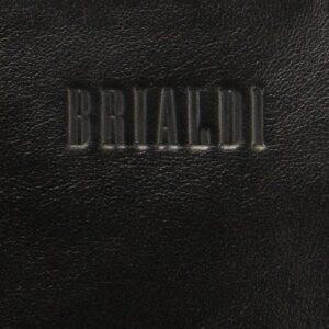 Функциональная черная мужская сумка через плечо BRL-1518 233555