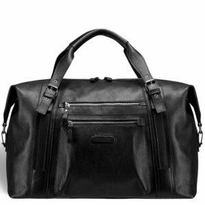 Кожаная черная мужская сумка BRL-11874 233888