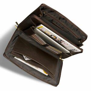 Удобный коричневый мужской аксессуар BRL-12054 234001