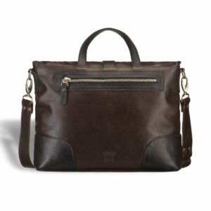 Функциональная коричневая мужская сумка через плечо BRL-3517 233688