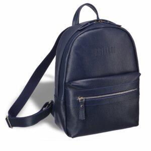 Солидная синяя женская сумка BRL-17483