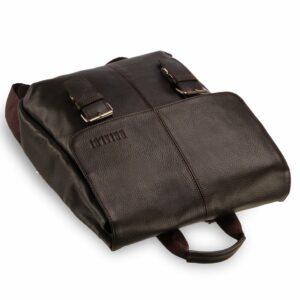 Удобный коричневый мужской рюкзак для ручной клади BRL-17457 234321