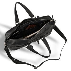 Вместительная черная дорожная сумка BRL-3287 233626