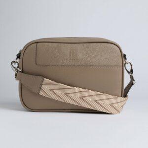 Модная бежевая женская сумка через плечо FBR-2767