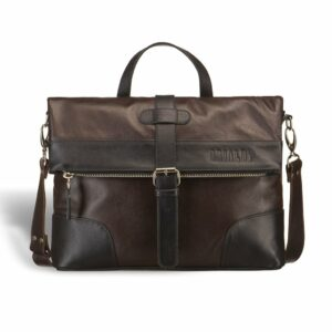 Функциональная коричневая мужская сумка через плечо BRL-3517 233685