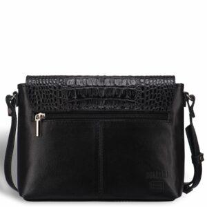 Кожаная черная женская сумка BRL-15208 234232