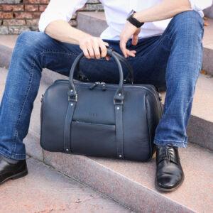 Удобная синяя сумка спортивная BRL-23332 235374