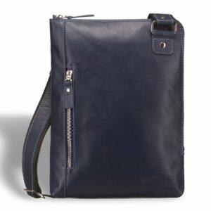 Солидная синяя мужская сумка BRL-7528 233741